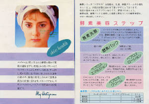 Pamphlet from May Ushimura Spa Campaign