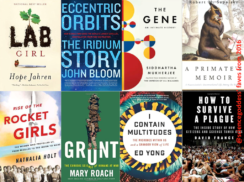 Sciencegoddess' Favorite Science Books 2016